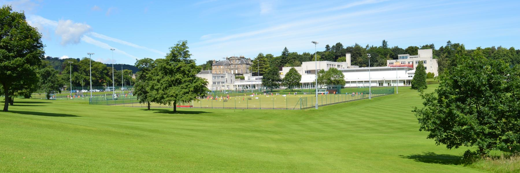 The Mary Erskine School grounds in Edinburgh