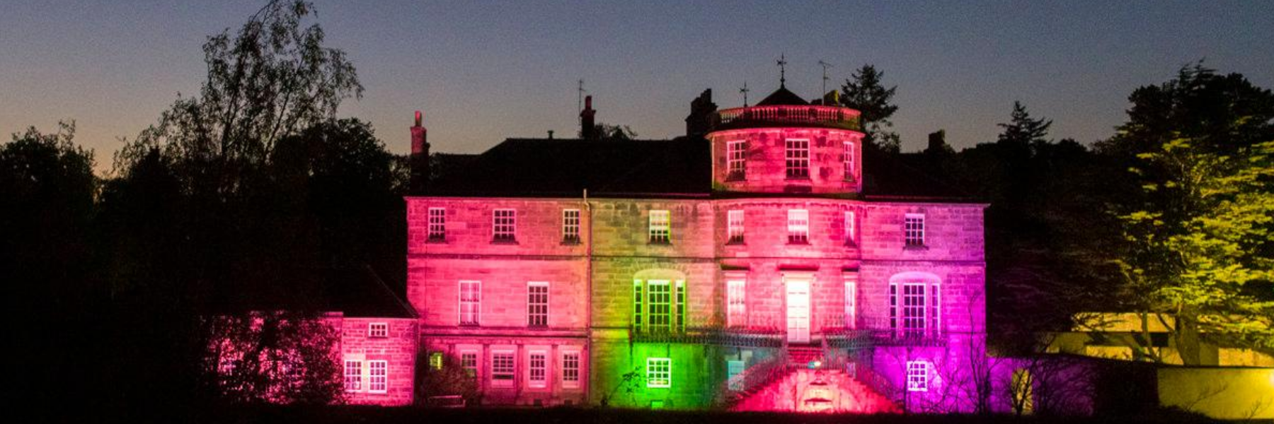 Ravelston House In Rainbow for LGBT Support