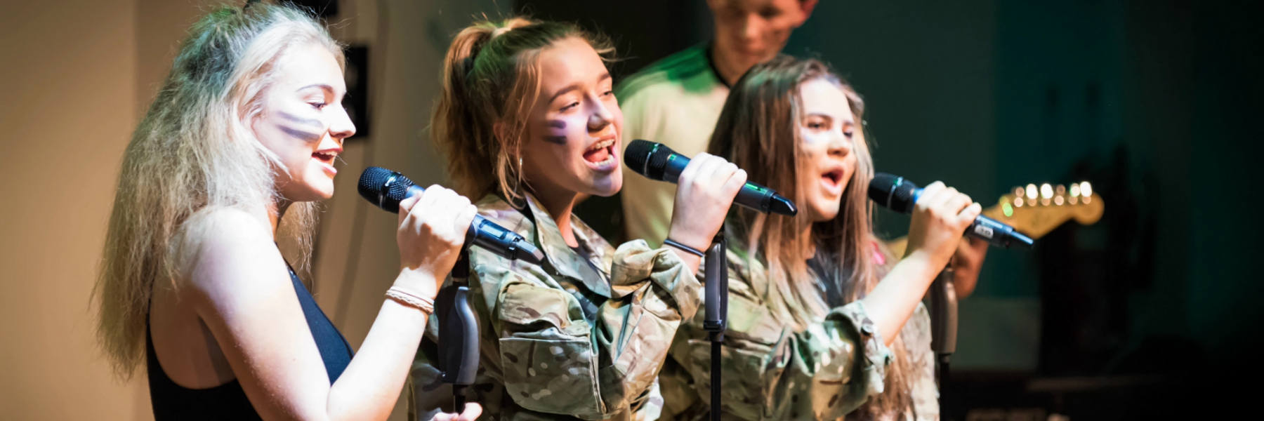 Mary Erskine girls perform at House Music competition