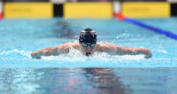 Archie goodburn wins swimming gold at uk school games esms - Loughborough university swimming pool ...
