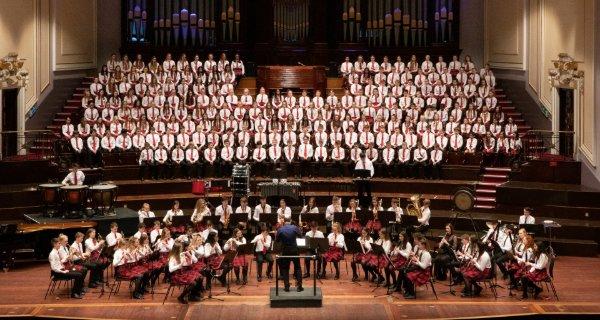 ESMS Usher Hall Edinburgh Performance Orchestral Choral Mozart