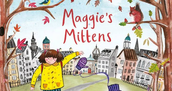 Maggie's Mittens Book Cover