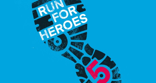 Run For Heroes Charity Logo