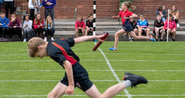 Sports Day competitors