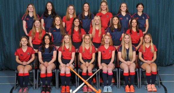 MES 1st XI hockey team