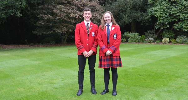 Head boy and girl 2020