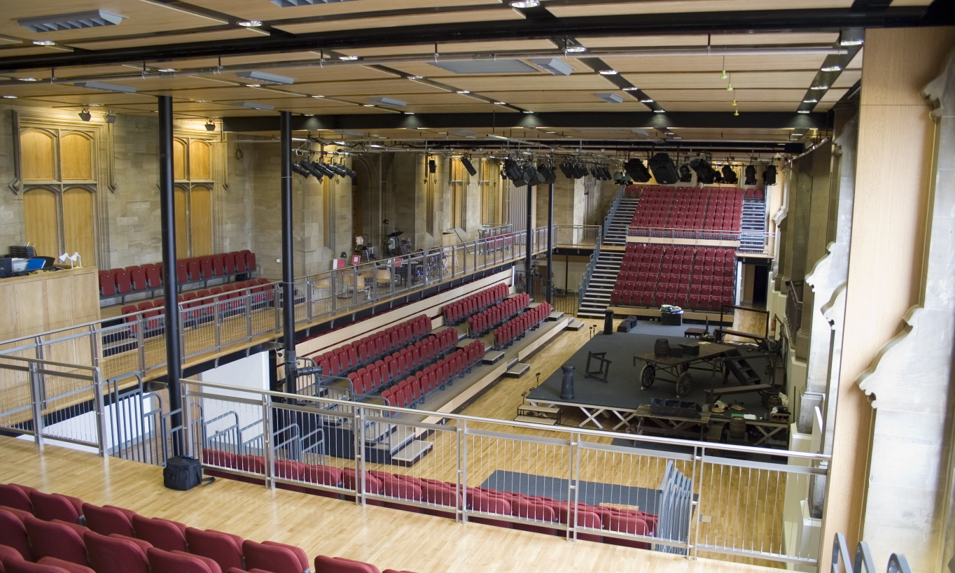 The TFC when empty & Venue Hire | ESMS