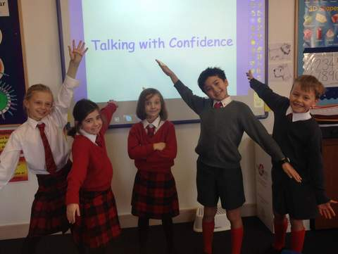 Junior School Talking with Confidence Club